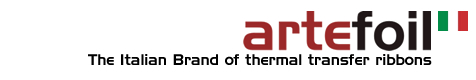 Artefoil - the italian brand of thermal transfer ribbons